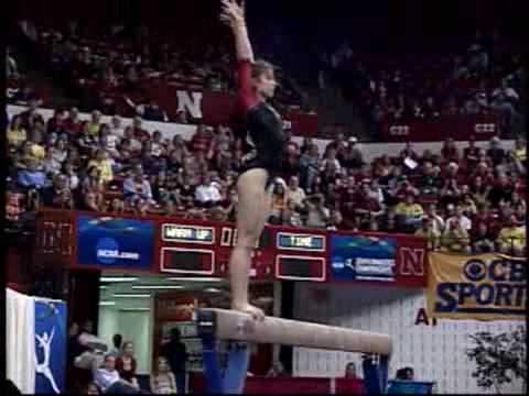 Courtney Kupets BB 2009 NCAA EF (her final routine!!!!)