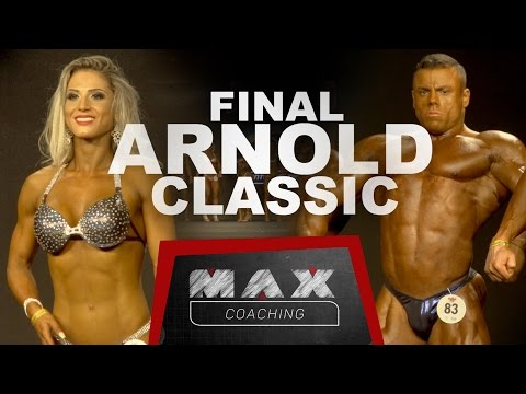 Max coaching - Arnold Classic South America Final