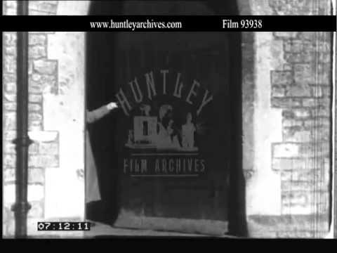 South Cerney Women's Institute, 1930's.  Archive film 93938