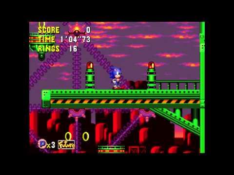 Sonic CD | Wacky Workbench 2.0 (Past) | @GetAtLilSteve