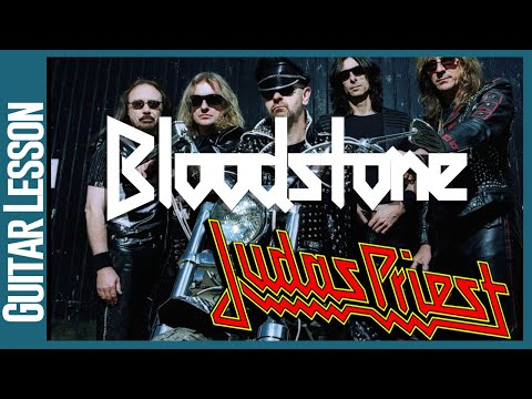 Bloodstone By Judas Priest - Guitar Lesson Tutorial