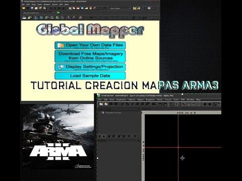 TUTOR CREACION MAPAS ARMA3 - 04 - Universal Maps Downloader