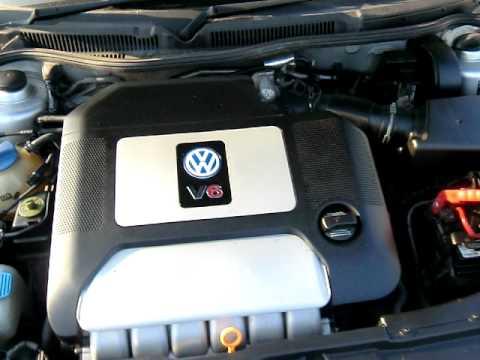 Golf 4 V6 Motor Youtube