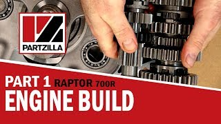 Yamaha Raptor 700R Engine Build Part 1: Bottom End Build   Partzilla.com