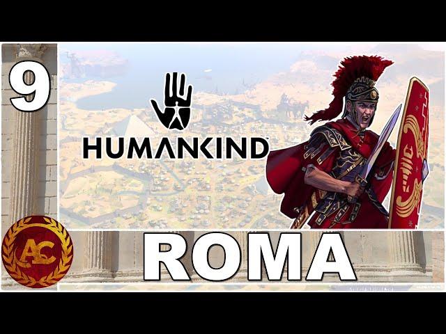L'EGEMONIA ROMANA || HUMANKIND || GAMEPLAY ITA #9 (opendev Victor)