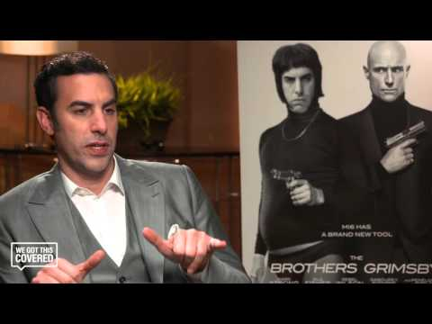 Exclusive Interview: Sacha Baron Cohen Talks The Brothers Grimsby [HD]