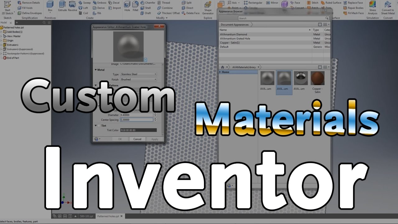 Autodesk Inventor Material Library Download