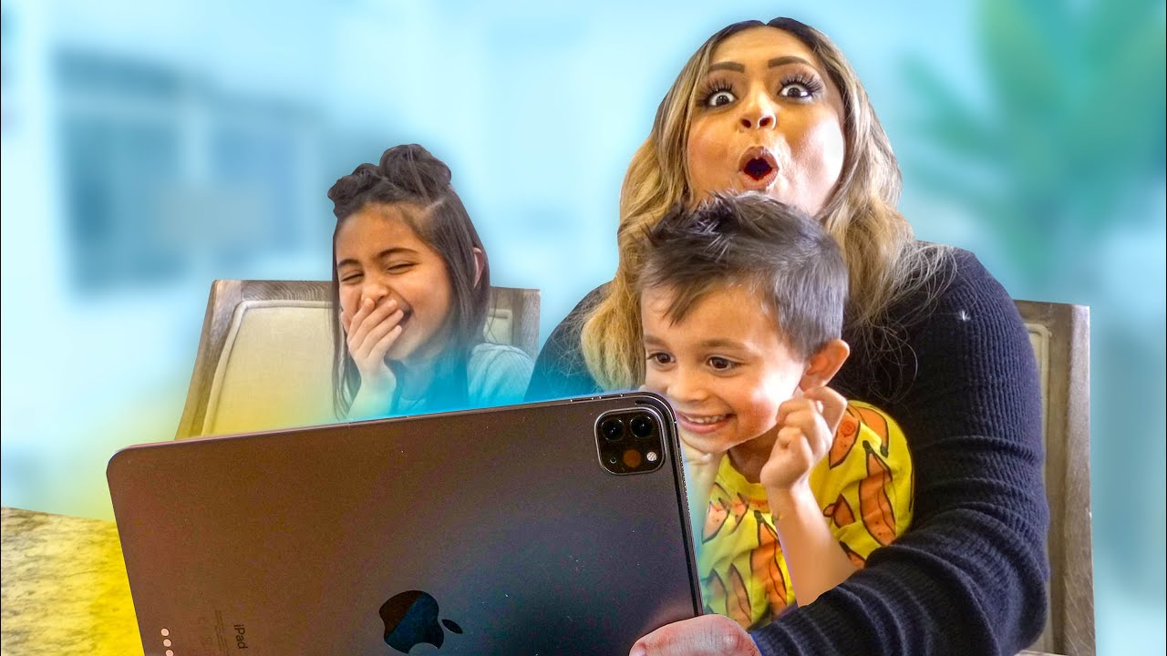 MOM REACTS TO 4 YEAR OLDS CAMERA ROLL *SHOCKING*