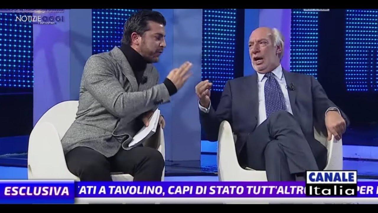 L'autore de La Matrix Europea incontra chi ha votato il MES: Scontro in TV