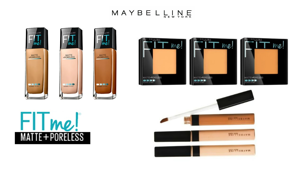 Review Demo Wear Test Maybelline Fit Me Matte Poreless Concealer Medium Youtube Premium