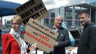 GEZ-Protest Berlin am 30.05.2015