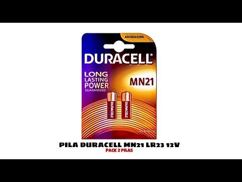 Video de Pila duracell MN21 LR23 12 v pack 2 pilas