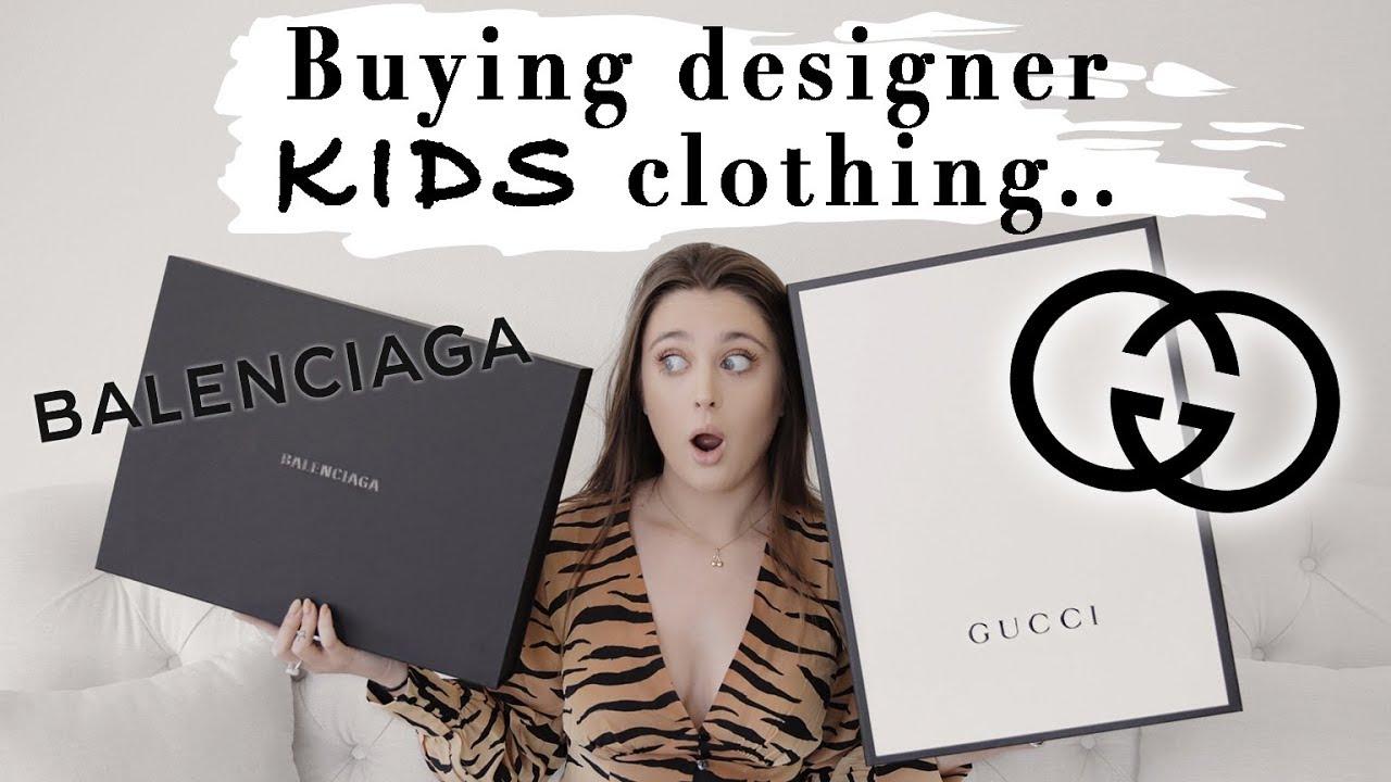 I BOUGHT MYSELF KIDS DESIGNER CLOTHES