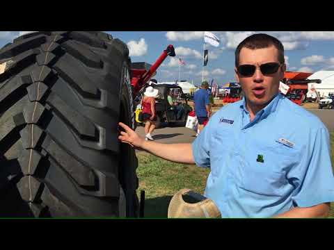 Michelin Tires provide performance, while protecting the soil