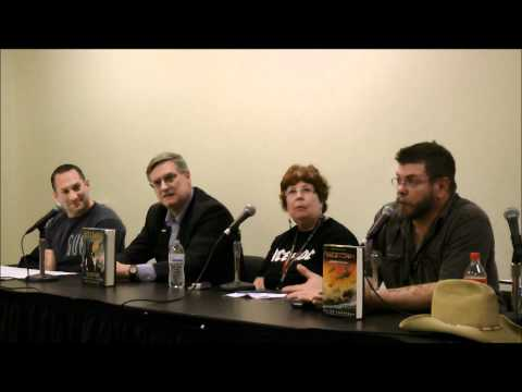 Military Sci-Fi - 2011 NY Comic Con panel w/ Myke Cole, Jack Campbell, Taylor Anderson - part 2 of 3