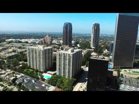 An Aerial View of Century City, Los Angeles