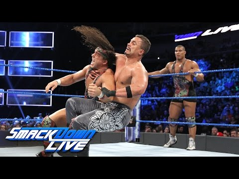 American Alpha vs. The Colons - Beat the Clock Challenge Match: SmackDown LIVE, April 25, 2017