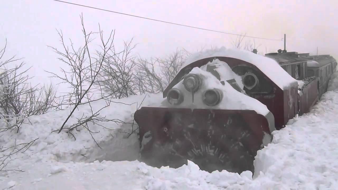 snow plowing machine