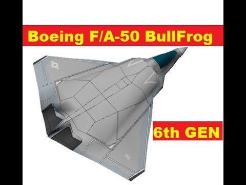 Boeing New F/A-50 BullFrog Next Generation Fighter