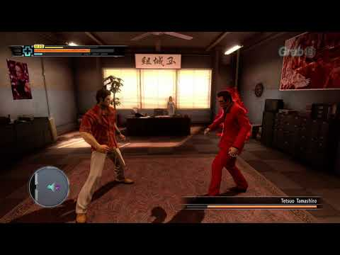 Yakuza 3 Remastered Kiryu vs Tetsuo Tamashiro Boss fight FULL HD ULTRA 60 FPS |
