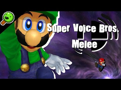 Super Voice Bros. Melee 【Playing Super Smash Bros. Melee with only voice commands】