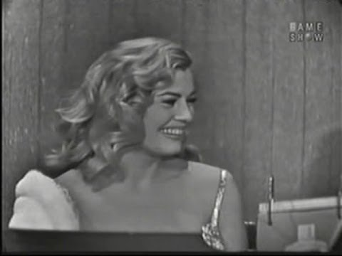 What's My Line? - Anita Ekberg; Tony Randall [panel] (Mar 23, 1958)