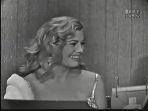 What's My Line?  Anita Ekberg; Tony Randall panel Mar 23, 1958
