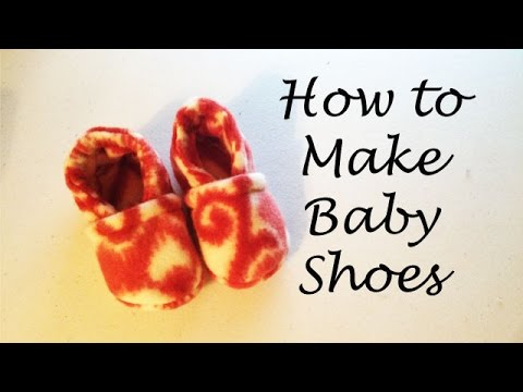 how to make baby shoes youtube. Black Bedroom Furniture Sets. Home Design Ideas