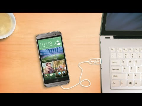 #htchelp HTC One (M8) - Manage files between your phone and computer
