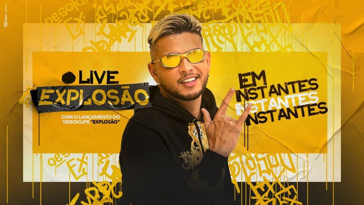 LIVE EXPLOSÃO com MC WM | #FiqueEmCasa e Cante #Comigo