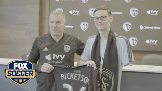 Sporting Kansas City sign 18-year old with bone cancer to honorary contract | FOX SOCCER