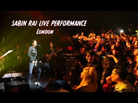 SABIN RAI LIVE PERFORMANCE in London (  KALO KALO RAATKO)