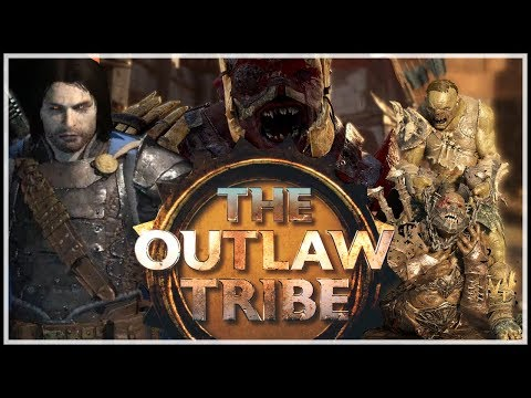 [Shadow of War] OUTLAW TRIBE - Legendary Gear, Abilities & Fortress