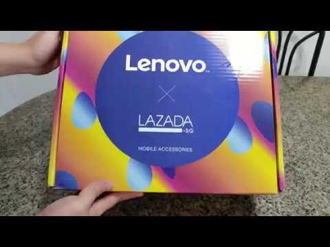 $29 Lenovo x Lazada Singapore Birthday Surprise Electronics Box Worth $100 Unboxing