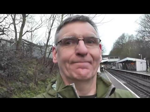 Rail Trip SE London to Hartlepool - Crossing London - 25 March 2016 - Part 1