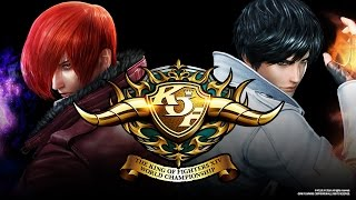 SCR2016 The King of Fighters XIV Top 8
