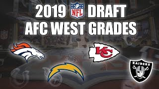 2019 NFL Draft Grades | All 7 Rounds | AFC West | How'd The Broncos, Raiders, Chiefs, Chargers Fare?