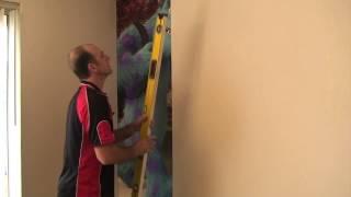 Monsters University Wallpaper mural install