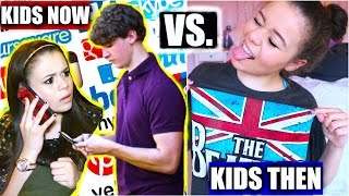 Kids Now Vs. Kids Then! | Krazyrayray