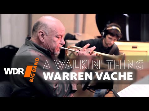 Warren Vaché  feat. by  WDR BIG BAND  A Walkin' Thing Rehearsal
