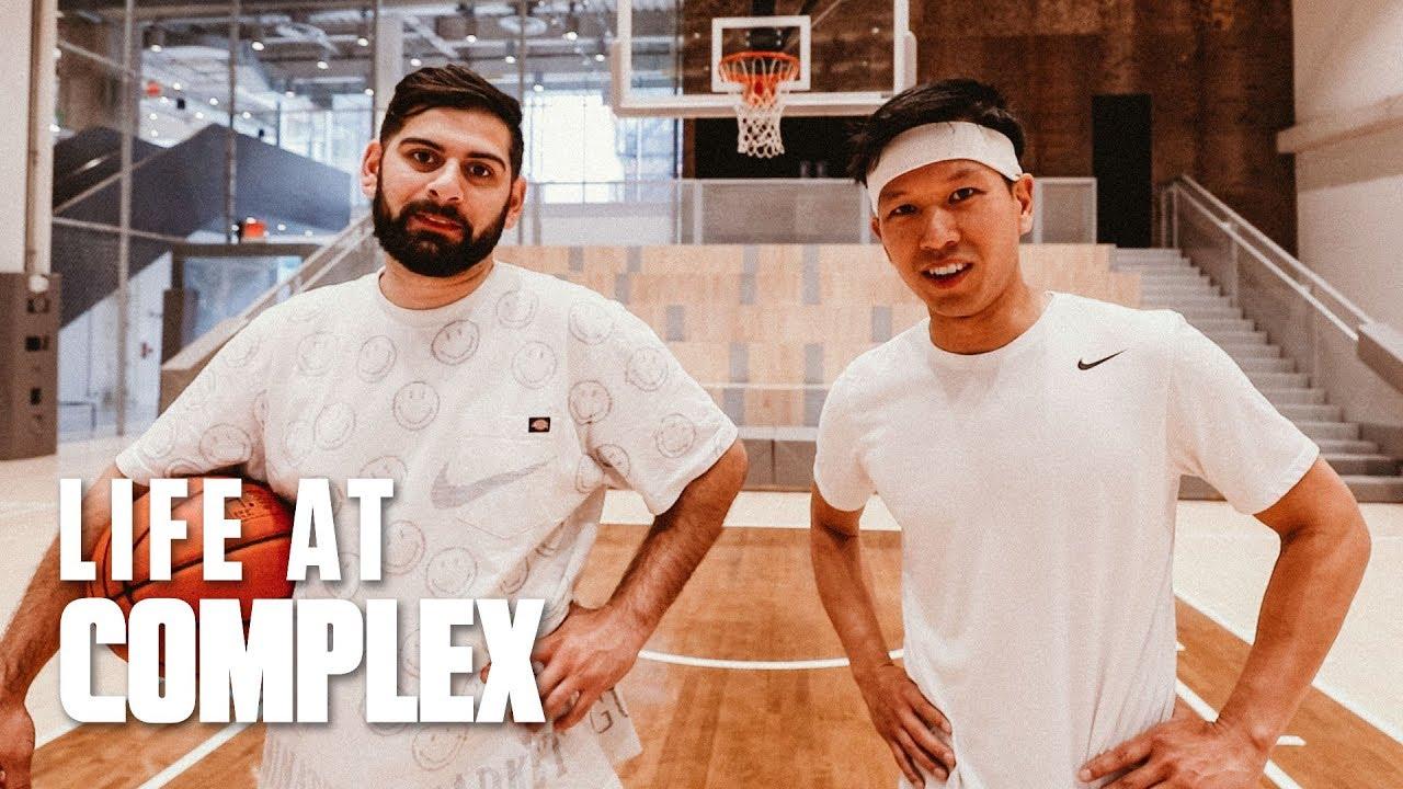 Qias Omar vs Tony Mui in Basketball Shootout | #LIFEATCOMPLEX