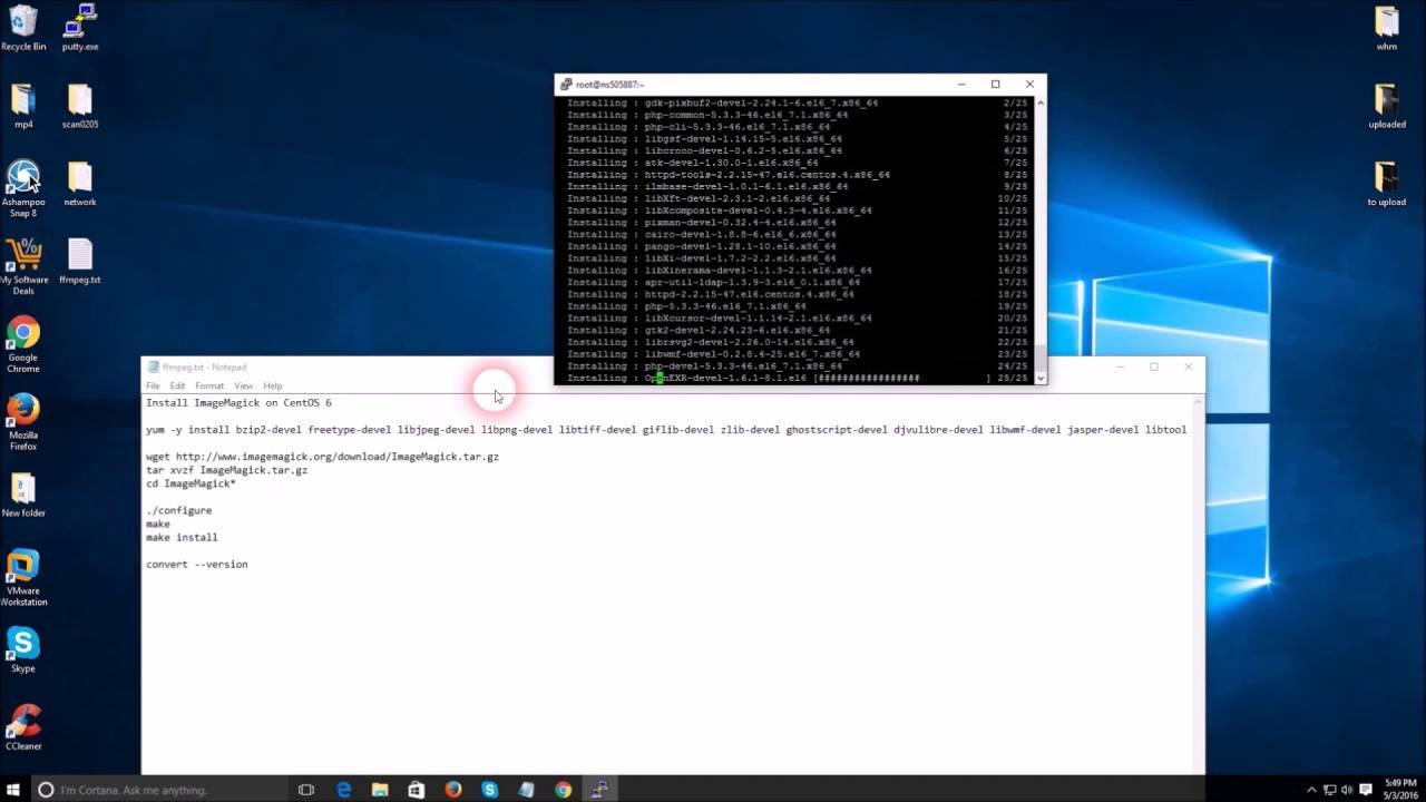 install imagick windows 10