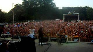 On stage with Cee-Lo Green at Virgin Mobile FreeFest Concert (singing F*** You!)