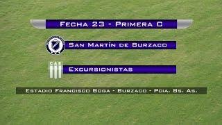 San Martín Burzaco vs Excursionistas full match