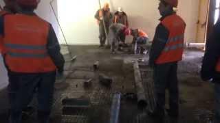 Redline  монтаж трассы бетононасоса(, 2015-04-06T10:40:39.000Z)