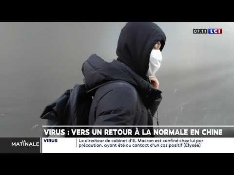 Virus: Vers un retour à la normale en Chine