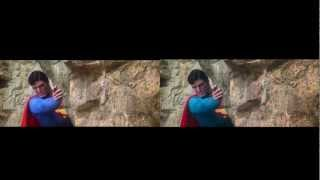Superman: The Movie Blu Ray : Side by Side Comparison : 1080p