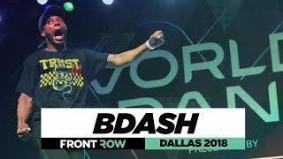Bdash Frontrow World Of Dance Dallas 2018 Woddallas18