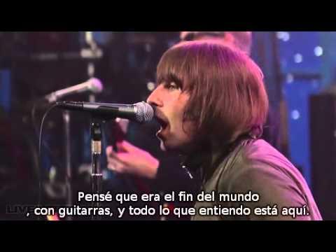 Beady Eye -The Beat Goes On-(Subtitulada Español) (Live on Letterman) (HQ)