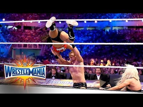 John Cena & Nikki Bella vs. The Miz & Maryse: WrestleMania 33 (WWE Network Exclusive)